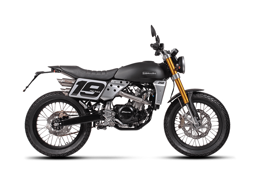 Flat Track 250cc - Caballero | Fantic Motor Norge