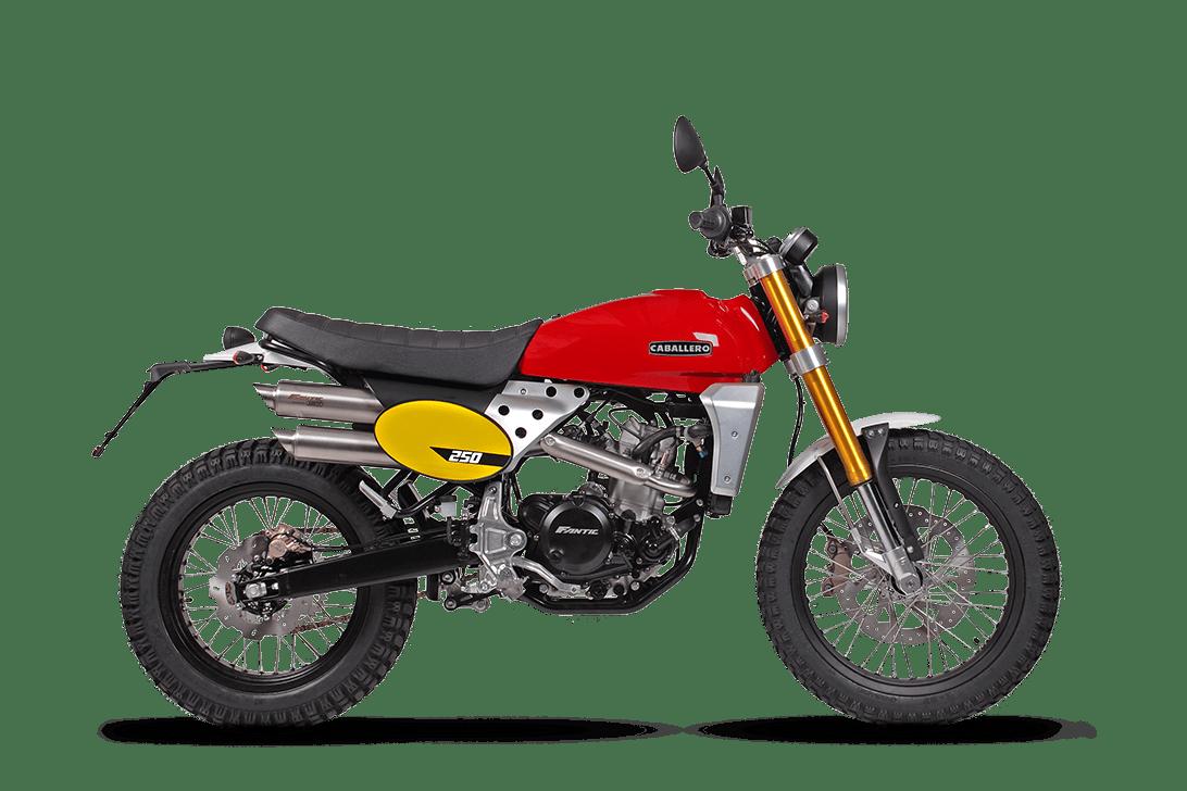 Fantic Scrambler 250cc - Cabarello | Fantic Motor Norge