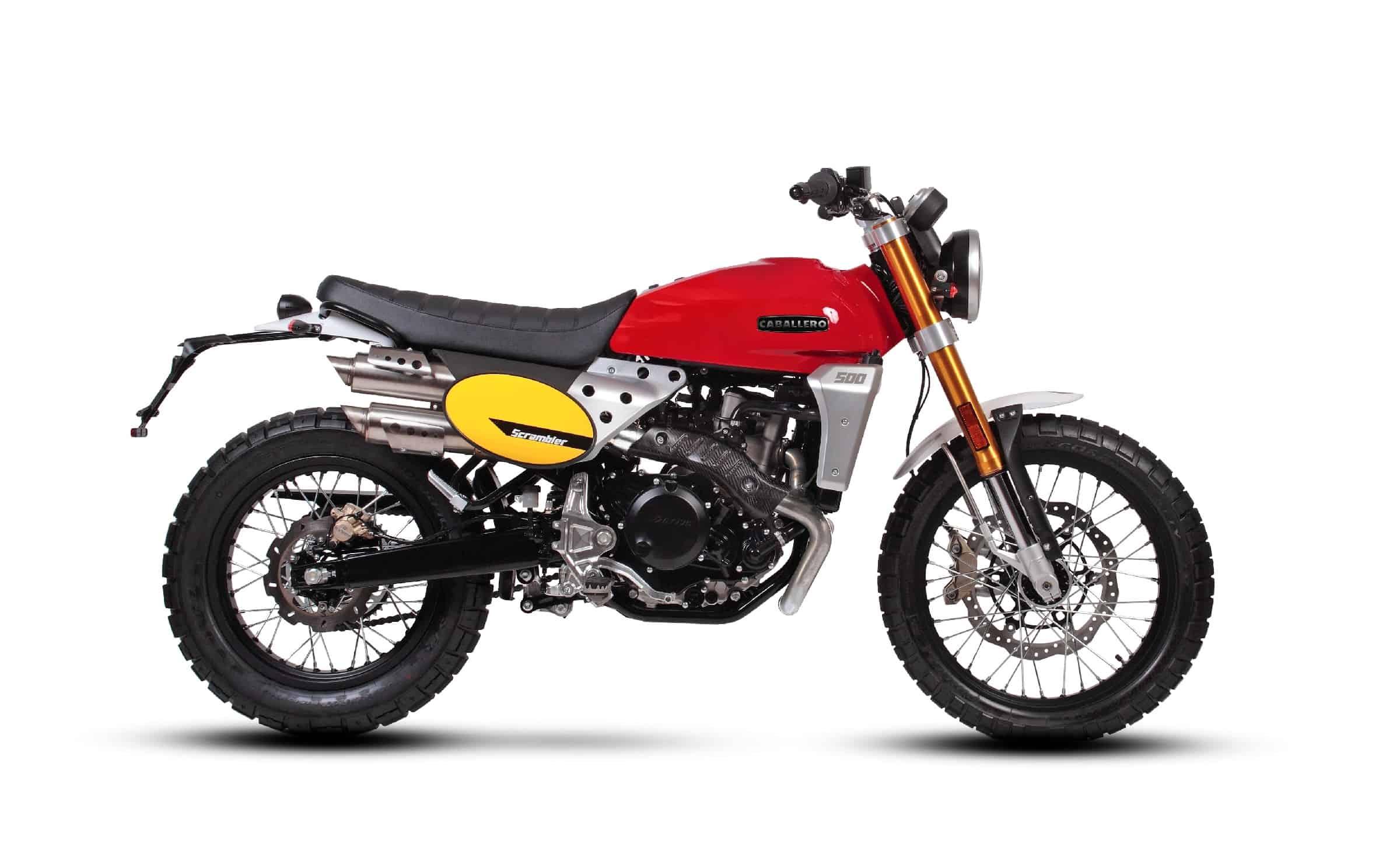 Fantic Scrambler 500cc - Cabarello | Fantic Motor Norge